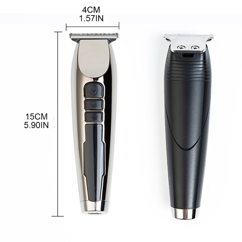 Digital Retro Electric Clippers Rechargeable Hair Trimmer Low Noise Hair Cutting enlarge