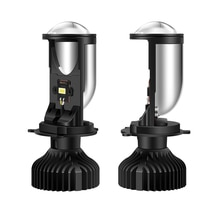 90 W/pair H4 mini led objektiv projektor led scheinwerfer bulb conversion kit können bus fehler freies 6000K 12V 24V