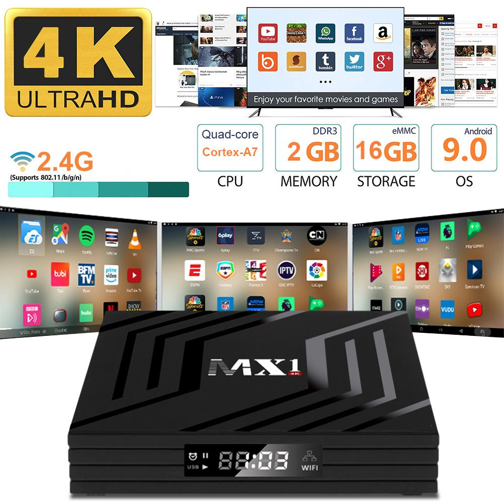 UK/AU/EU/US Set-top Box Remote Control Durable Network Digital TV Converter Box Media Player Recorde