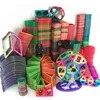 1 pièces magnétiques bricolage blocs de construction pièces jouets de construction pour les tout-petits
