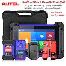 Autel IM608 XP400 ключевой программатор ЭБУ диагностический автоматический диагностический инструмент без ограничений IP не будет заблокирован