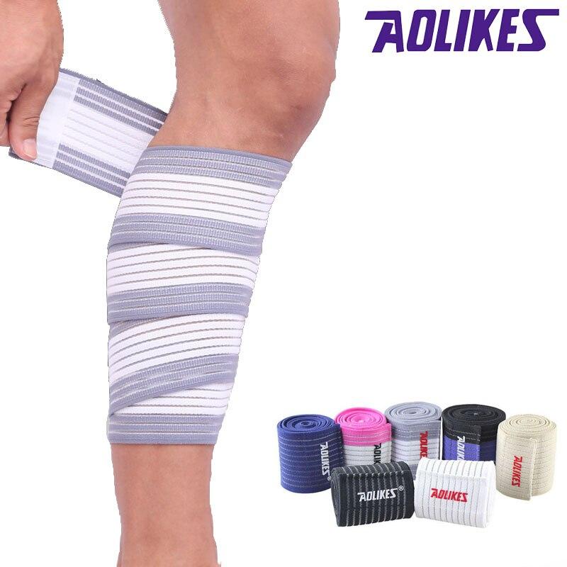 AOLIKES 1PCS Knee Elbow Wrist Ankle Hand Support Wrap Sport Bandage Compression Strap 90/120/180cm*7.5cm