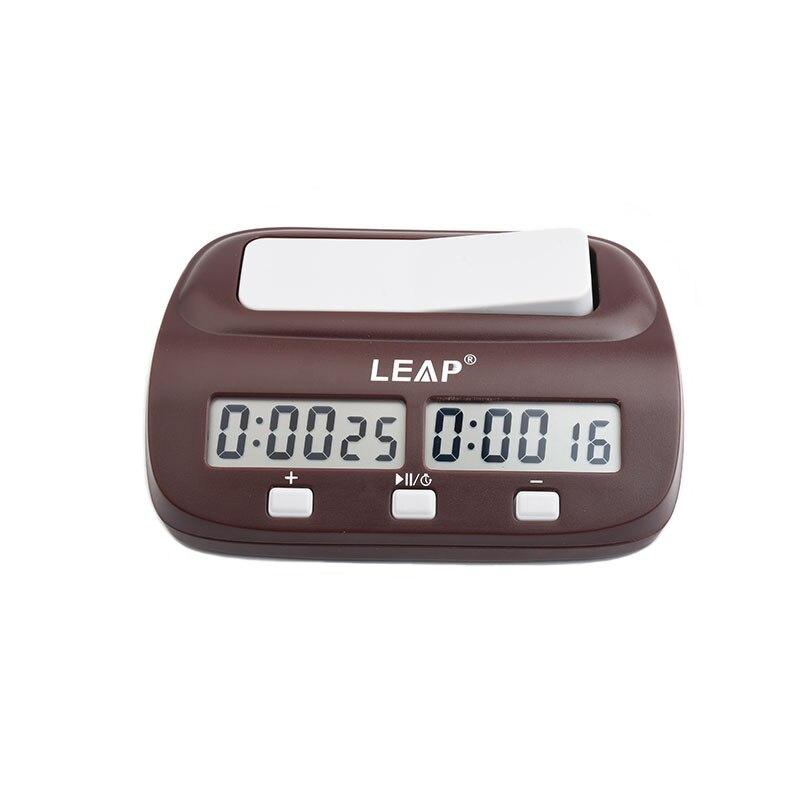 LEAP шахматные часы Профессиональные портативные цифровые настольные соревнования отсчет вниз игры секундомер электронный будильник