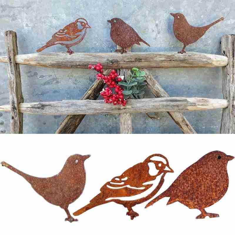 AliExpress - Metal Bird-shaped Ornaments Fences Flower Pots Pastoral Decoration Diameter 4 Mm Length 2 Cm About 20 G