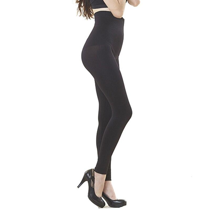 Women Slimming Legging High Waist Trainer Modeling Body Shaper Elastic Tight Slim Leg Tummy Control Panties Black Shapewear