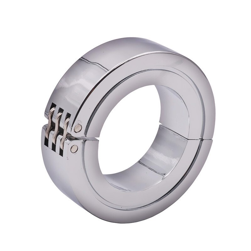 Boule suspendue en métal pour hommes, anneau de poids, anneau de retenue, jouet de plaisir pour hommes
