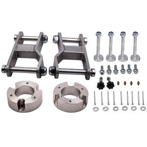 "2.5"" Front + 2"" Rear Suspension lift Kit For Nissan Navara D40 4WD 2004-2015 Front Coil Strut Spacers & Shackle"