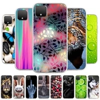 case for google pixel 4 silicone soft tpu phone case for google pixel 4 g020m g020i cases cute cat animal fundas coque covers