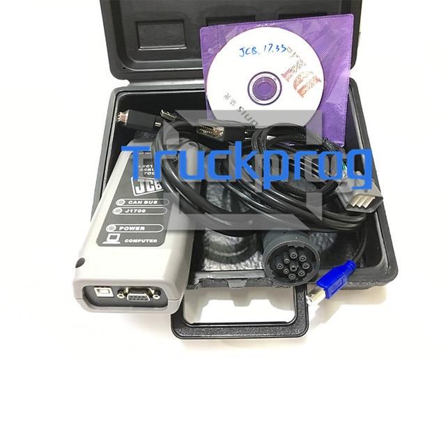 V1.73.3 для JCB диагностический комплект JCB электронный сервисный Инструмент JCB Экскаватор грузовик диагностический комплект + Сервис JCB сервисные части pro SPP программное обеспечение