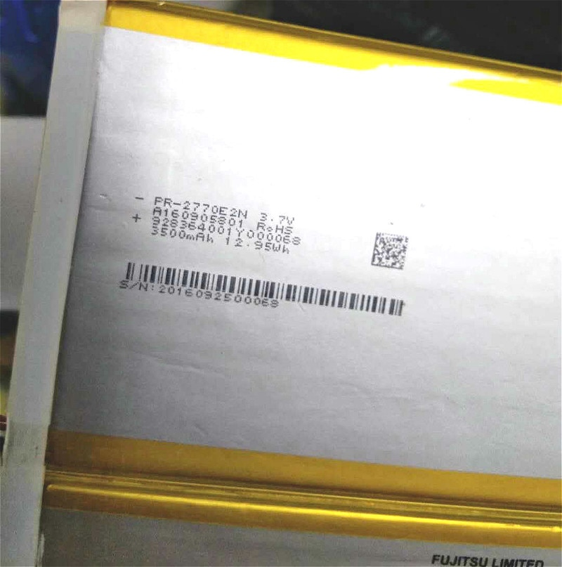Bateria de empilhamento PR-2770E2N Cp707666-01 7000 mah batteria para acer tablet TI10-1S5200-T1T2 comprimidos