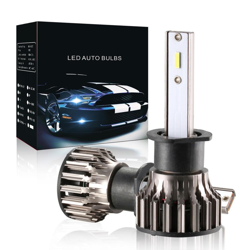 60 Вт 9005 лм водонепроницаемые Автомобильные светодиодные лампы H1 H7 H8 H9 H11 Led 9006 6500k Автомобильные противотуманные фары 9-36 в Светодиодная лампа