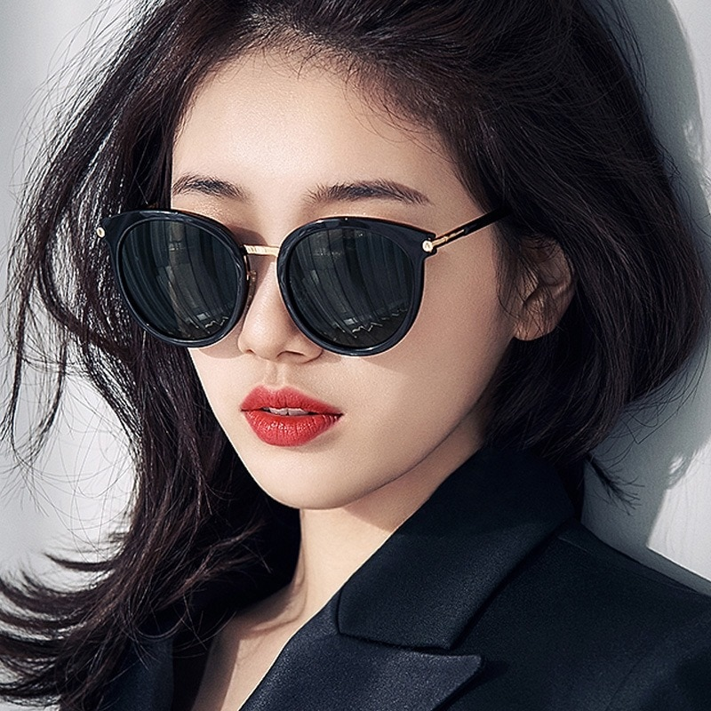 Round Vintage Sunglasses Women Classic Brand Design Mirror Sun Glasses Fashion Female Shades Retro G