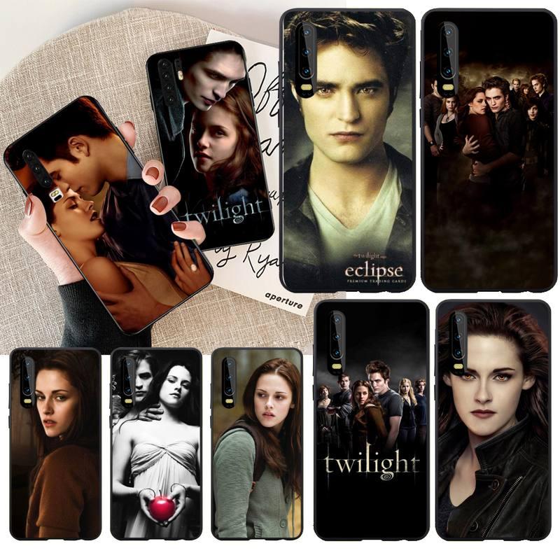NBDRUICAI TV crepúsculo Isabella Edward Cullen DIY pintado Bling caja del teléfono para Huawei P30 P20 P10 P9 P8 amigo 20 10 Pro Lite