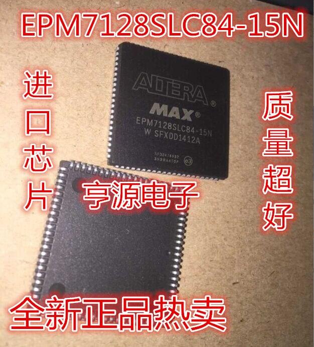 5 pièces Neuf EPM7128SLC84-15N EPM7128 PLCC84 Dispositif Logique Programmable