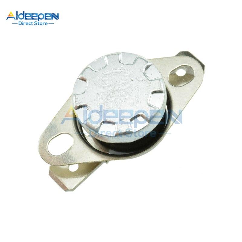 KSD301 interrupteur Thermostat 10A 250V   Normalement ouvert/fermé 30/40/45/50/55/60/65/70/75/80/85/90/95/100/105/diplôme 110/115/120/125/130 degrés