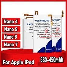 Top Brand New Battery for iPod Nano 5 5th Gen for iPod Nano 4th 4 Gen for iPod Nano 6th 6 Gen 8GB 16GB for iPod Nano 7th 7 Gen