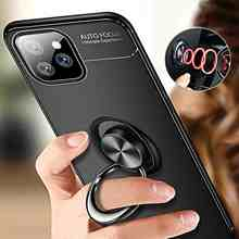Fashion Ring Holder Soft Case For Samsung Galaxy S21 5G Plus Ultra S20 Lite FE Fan Edition S10 S10e S9 S8 Phone Case Cover