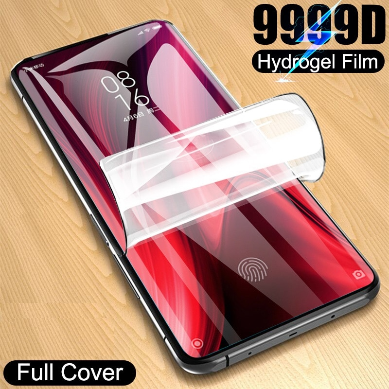 Full Cover Hydrogel Film For Xiaomi Redmi 4X 4A 3s For Redmi Note 5A Prime 5Plus 3X Note 4 3 4X Screen Protector Film