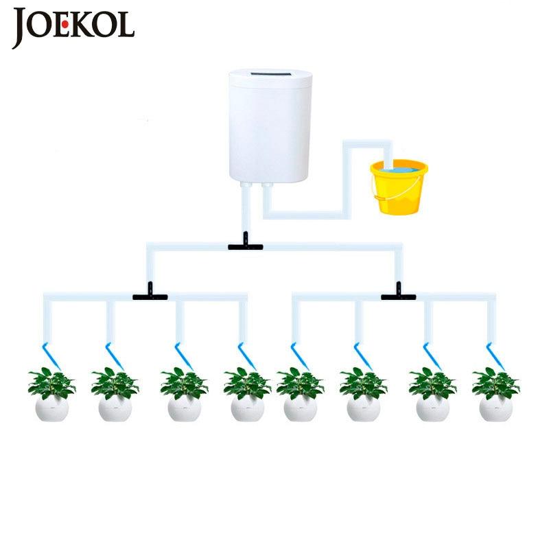 مضخة ري أوتوماتيكية ذكية للحديقة ، وحدة تحكم في ري النباتات الداخلية ، جهاز الري بالتنقيط ، مؤقت مضخة المياه ، مجموعة نظام الري
