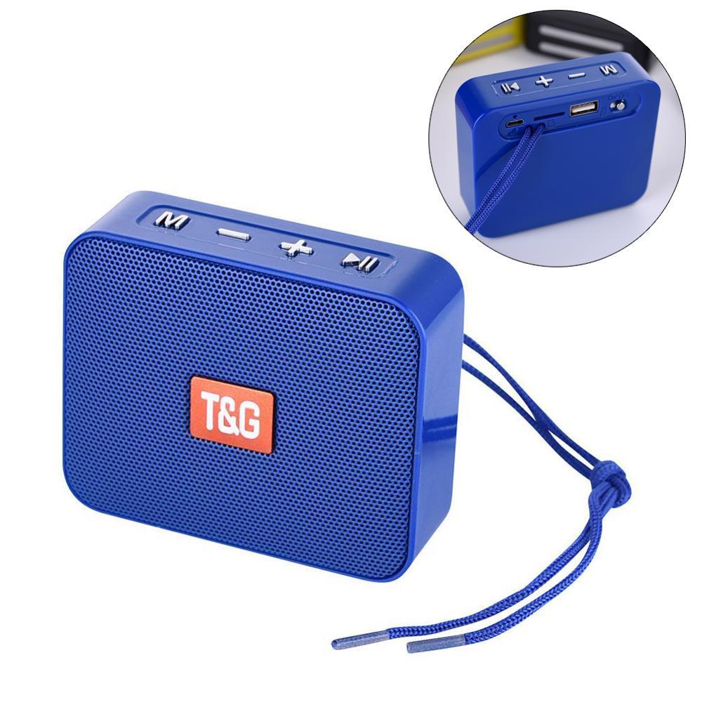 TG166 minialtavoz con Bluetooth portátil pequeño altavoz inalámbrico Bluetooth 5,0 soporte tarjeta...