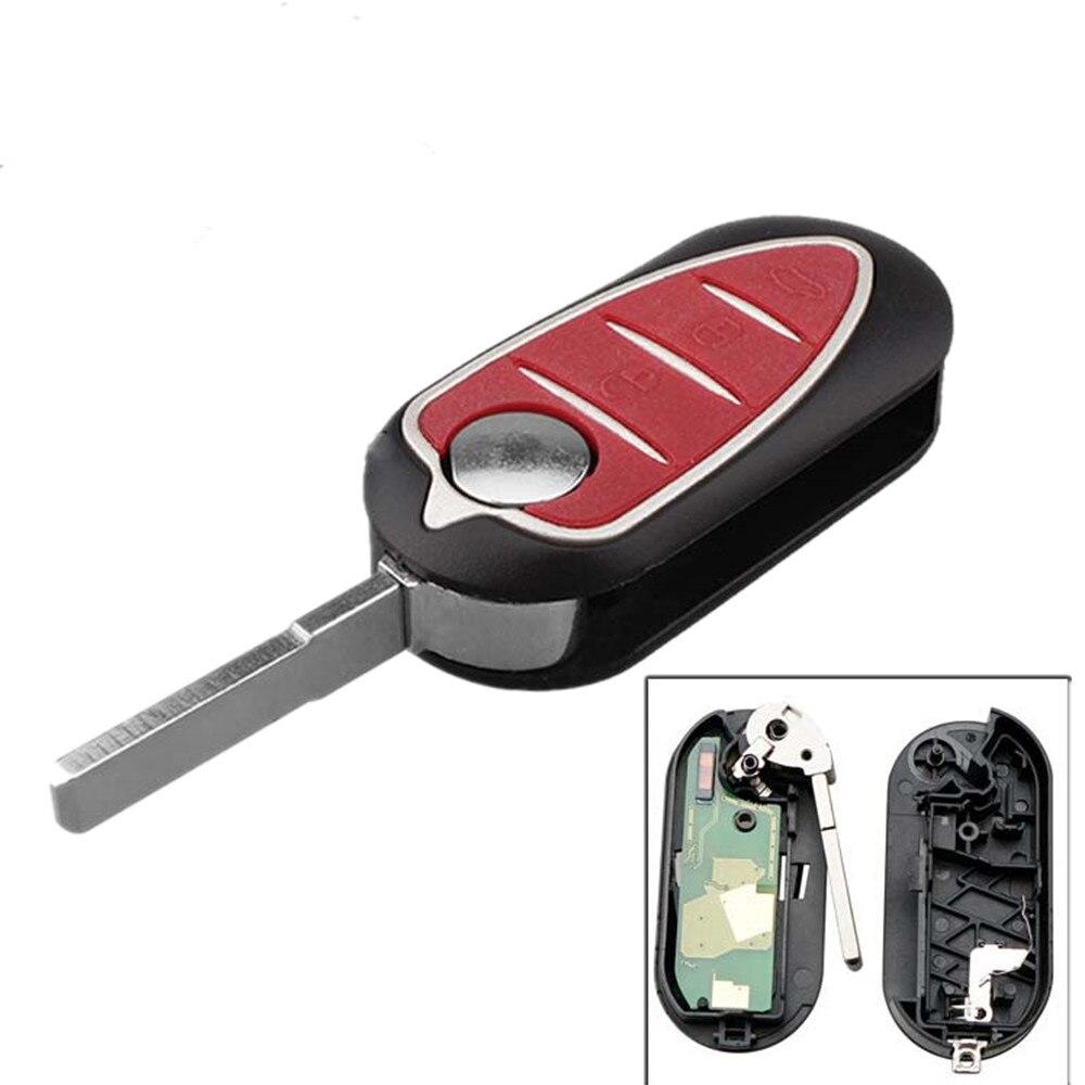 XRSHKEY 3 button Remote Key 433mhz For Alfa Romeo 147 159 Mito 2008  BSI with HITAG 2 7946 CHIP