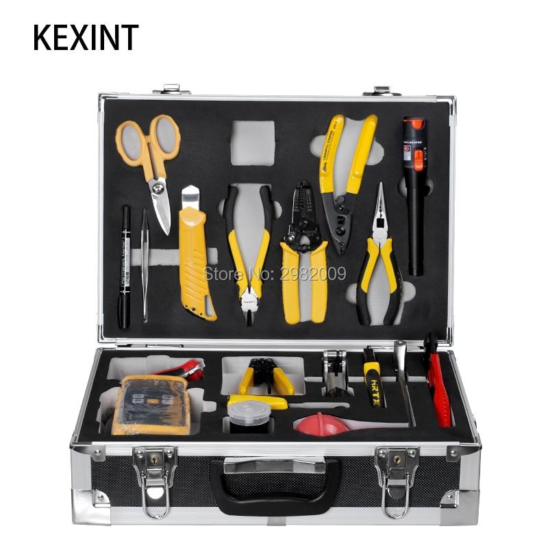 Cabo de fibra óptica construção toolbox/miller alicate ferramenta manutenção kit/fibra óptica toolbox