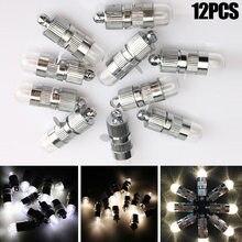 Ballons lumières en papier 12 pièces   Nouvelle lanterne en papier, blanc, lumières de fête, décoration florale, lumière, accessoires de noël
