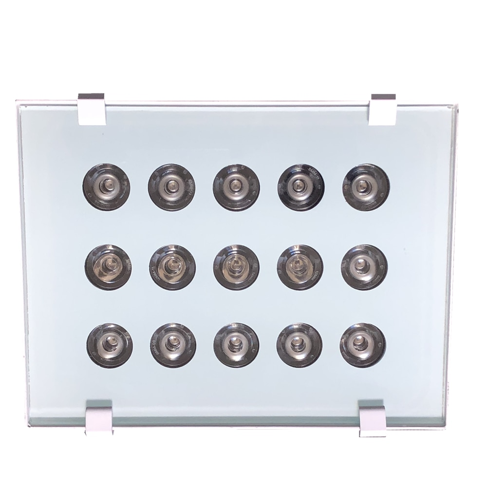 Iluminador Led 15 pièces   Système de Surveillance et de vidéosurveillance AC 220V, panneau IR Led, lampe infrarouge remplie, éclairage de Vision nocturne étanche pour lextérieur
