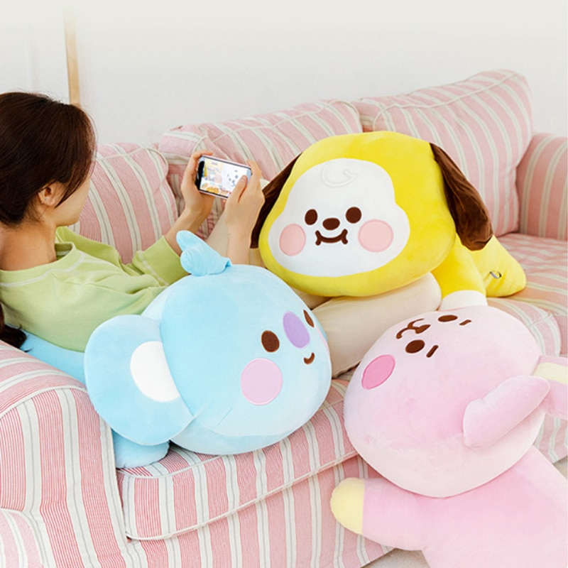 الكورية Kpop الكرتون الحيوان محشوة دمية ألعاب من القطيفة جميل Kawaii أنيمي الأرنب الكلب كوالا الحصان هدية لمحبي صديقة