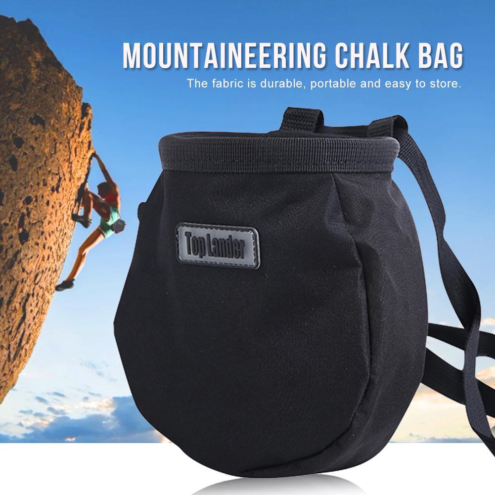 Outdoor Climbing Magnesium Powder Bag Pockets Hiking Waterproof Dry Hand Powder Bag Rock Climbing Non - Slip Pocket
