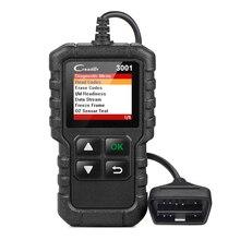 LAUNCH X431 Creader 3001 Full OBDII EOBD считыватель кодов Сканер CR3001 автомобильный диагностический инструмент на английском языке