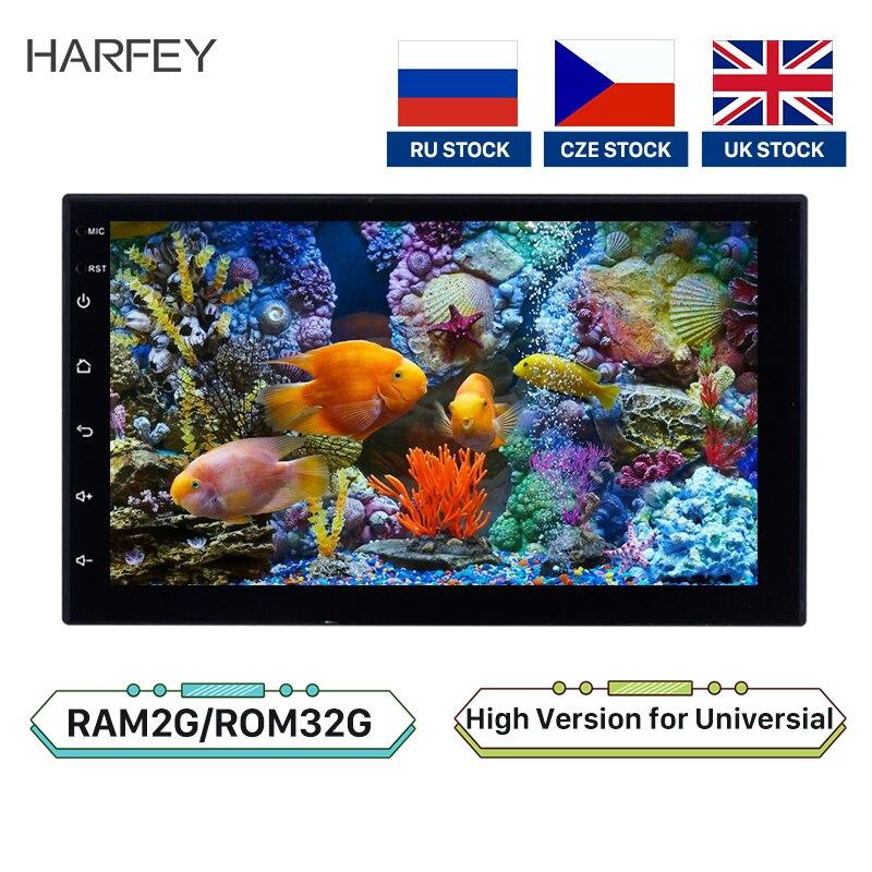 "Harfey coche Universal 2Din Android 8,1 Radio Estéreo HD Navi 7 ""GPS reproductor Multimedia para VW Nissan Kia Bluetooth Autoradio 2 + 32GB"