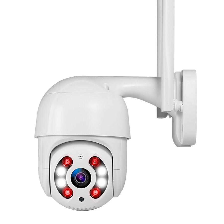 Cámara IP Kerui Domo HD1080P WIFI alarma IP cámara PTZ rotación vigilancia de seguridad del hogar con IR visión nocturna detección de movimiento