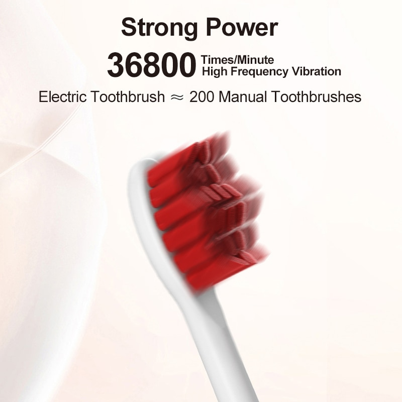 Classic Electric Toothbrush Auspicious Clouds Chinese Style Timer Rechargeable Soft Hair Couple Brush Sonic IPX7 Automatic Brush enlarge