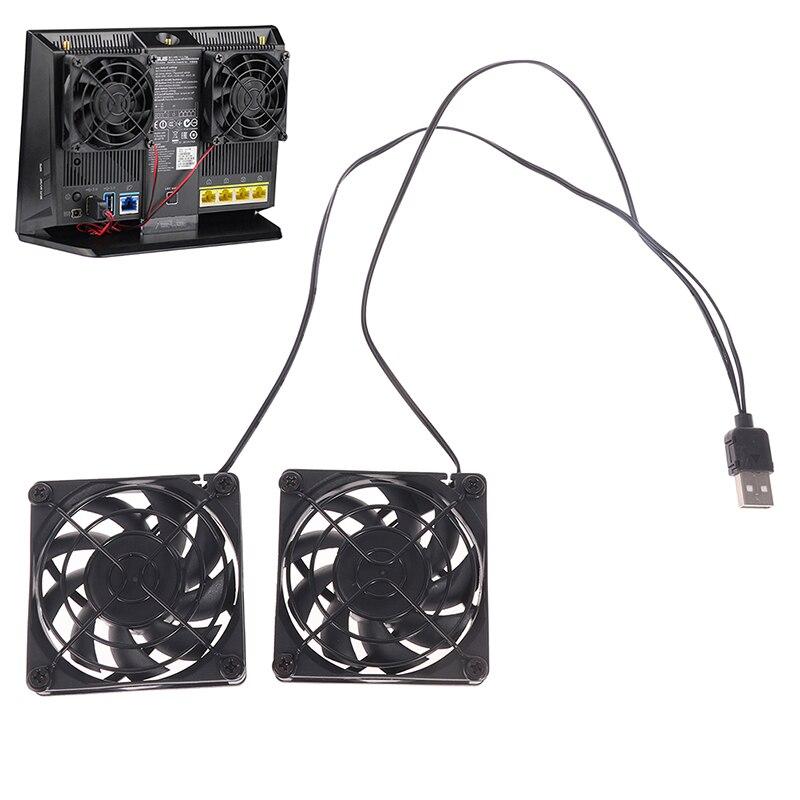 Ventilador de refrigeración USB para ASUS RT-AC68U/AC86U/AC87U/R8000, 1 Juego