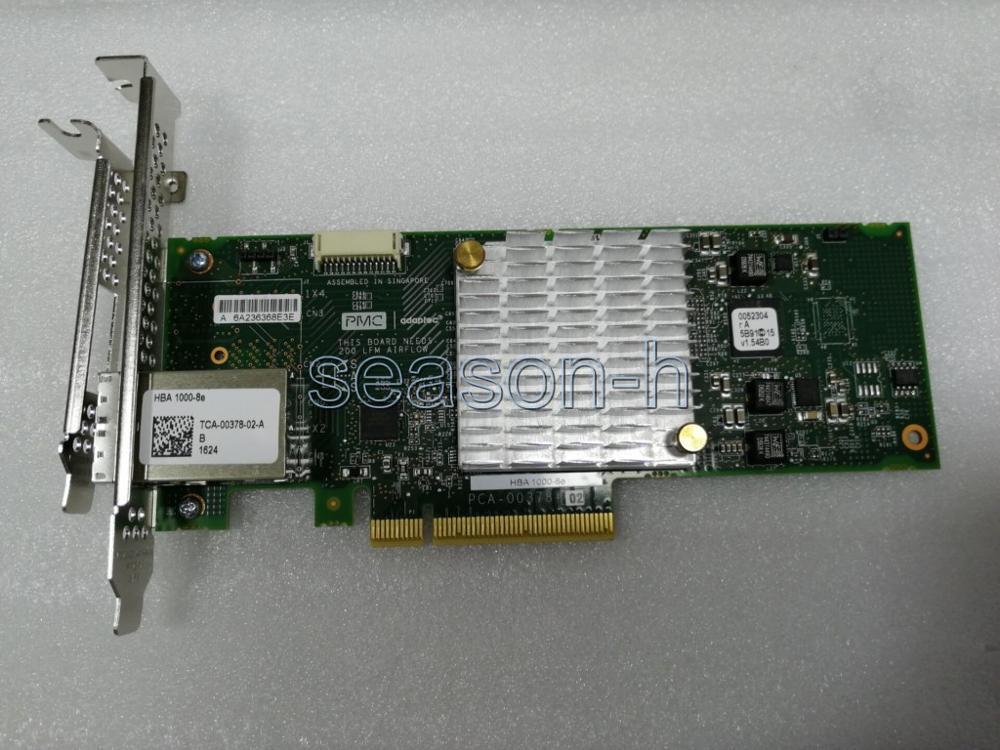 Adaptec 1000-8e HBA 6G SAS 12G PCI-e 3.0x8 تخزين تحكم