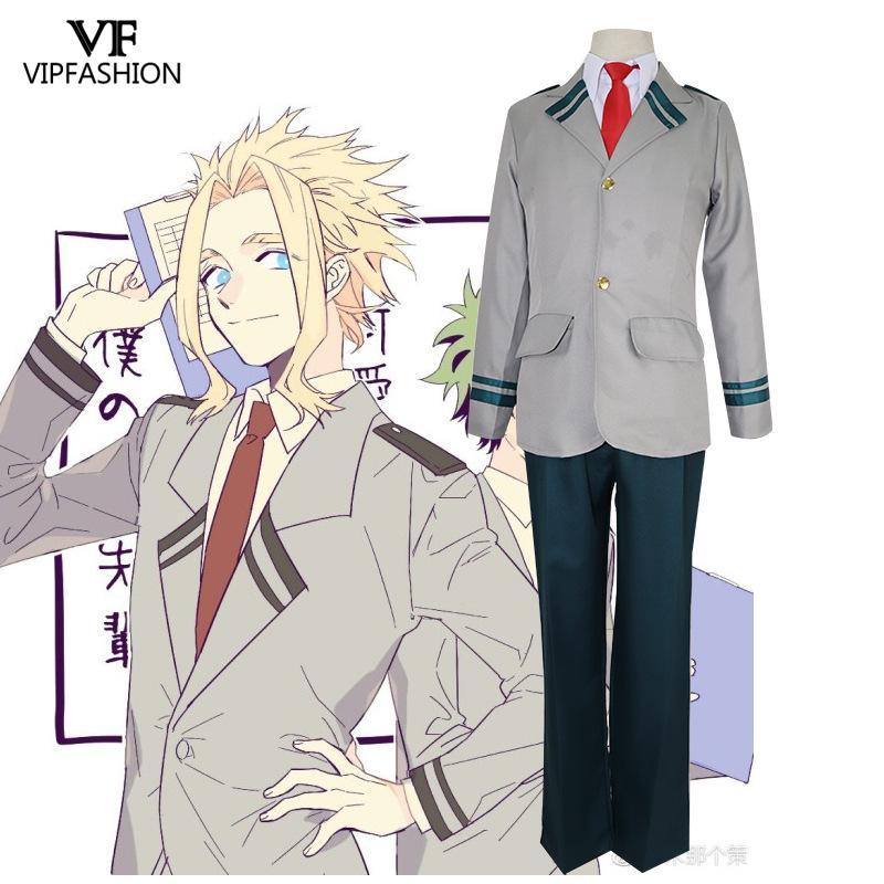 VIP Fashion Hot Anime mi héroe Academia uniforme de la escuela Cosplay traje Deku ochako uraraka Tsuyu Asui traje disfraces de Halloween