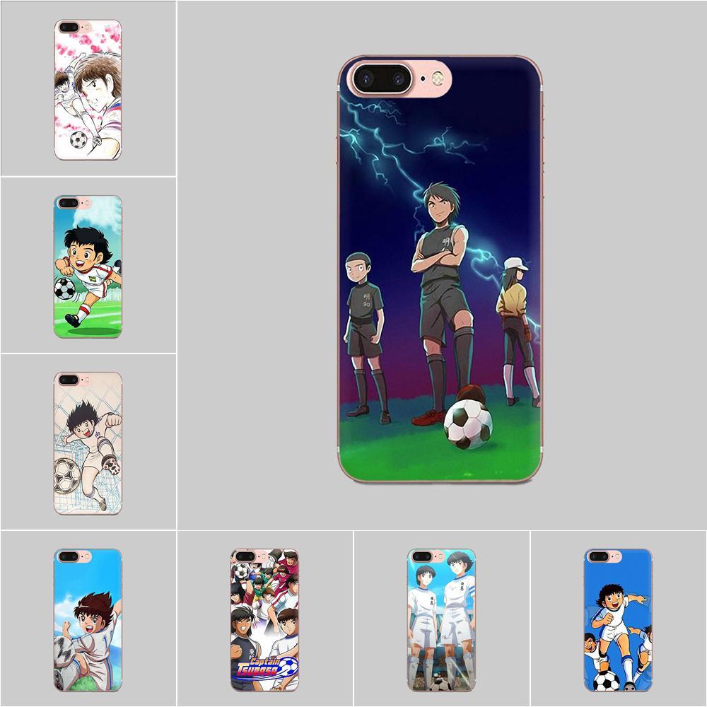 TPU lindo piel capitán Tsubasa Ozora Genzo de fútbol para Sony Xperia Z Z1 Z2 Z3 Z3 + Z4 compacto Z5 más M2 M4 XA XA1 XZ Premium