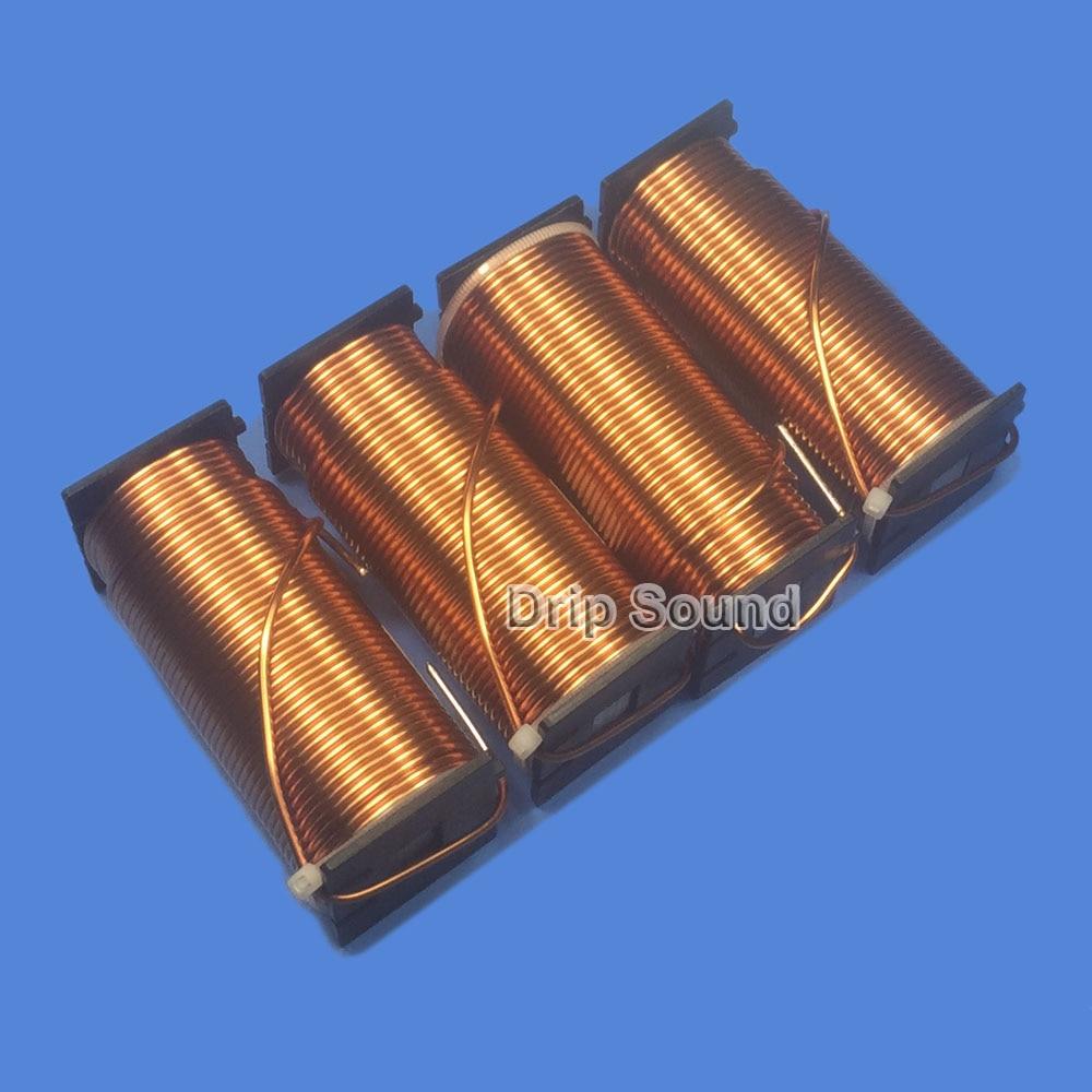 1 piezas 2,0mm 3.8mH-5.6mH altavoz Crossover amplificador de Audio Inductor 4N libre de oxígeno de cobre de alambre de bobina # de cobre