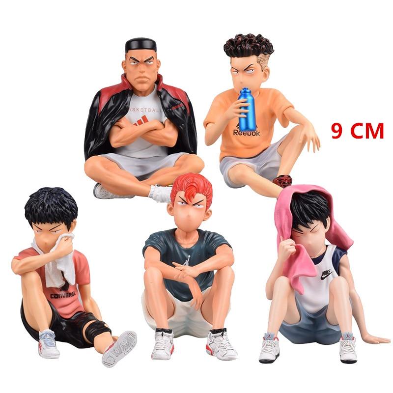Mitsui Dasin Sakuragi Figure Slam Dumk Fight Scene Models Little Tikes Basketball Pit Shohoku High School Anime Game 2020 Toys