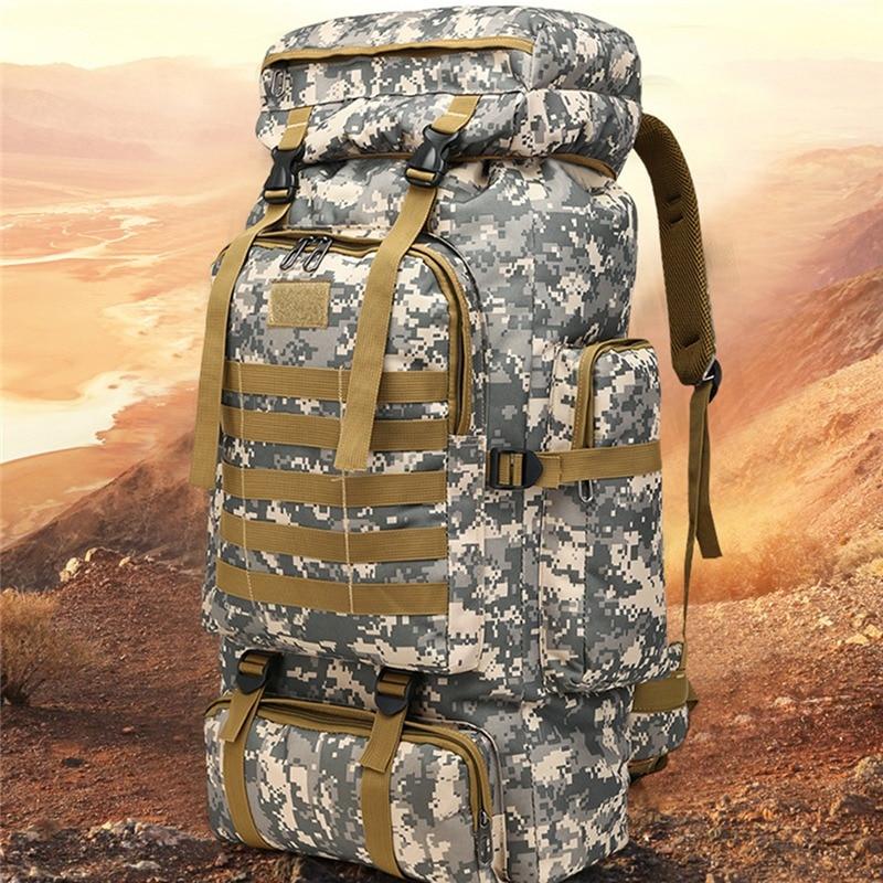 High Capacity Mountainer Military Rucksacks Large Capacity Outdoor Bag Tactical Backpack Sports Camping Hiking Trekking Bags