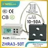 ZHRA3-50T มอเตอร์ป้องกัน RS485 Modbus โปรโตคอลอินเทอร์เฟซ make ปั๊มความร้อน units in one group run/หยุดโดยความจุคำสั่ง