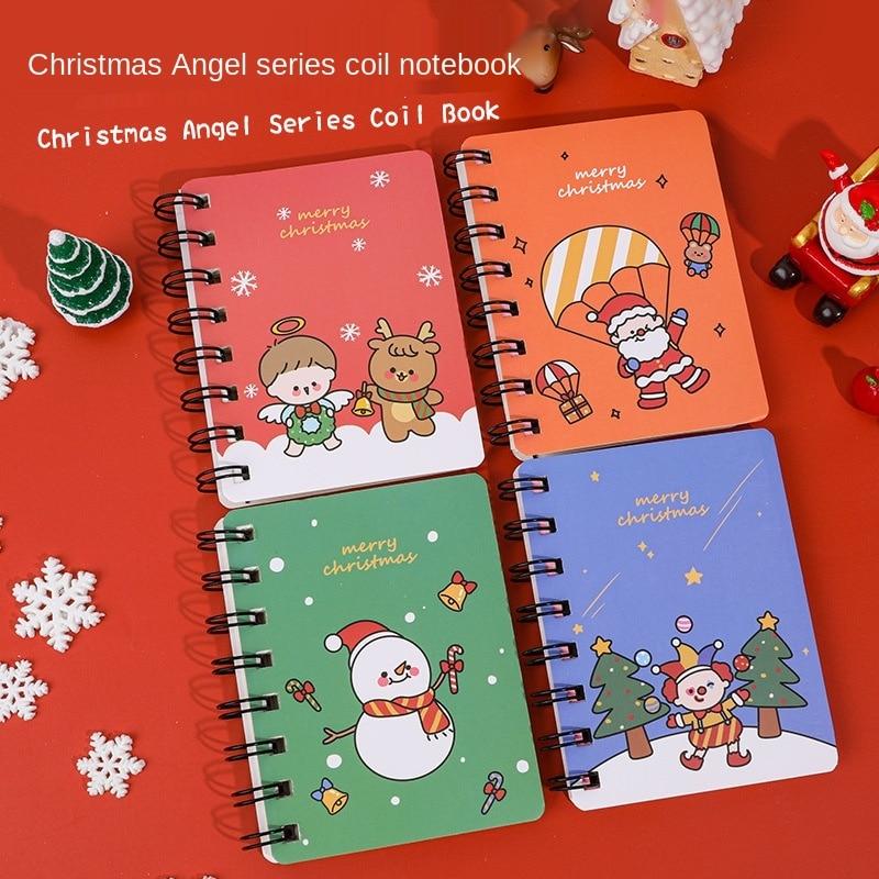 Повесить Su Рождество катушки этот студент мини портативный подарок на Рождество, для детей записная книжка карманного бланкнота