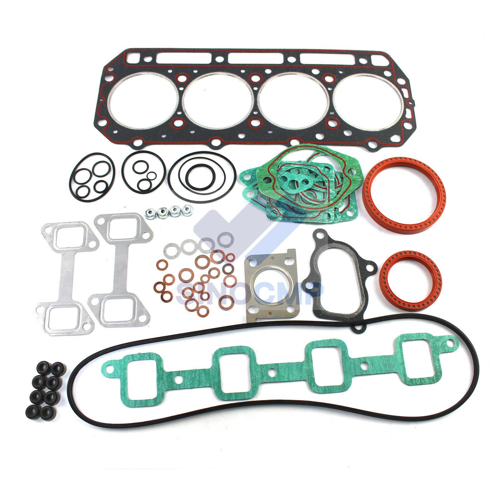 Kit de juntas de reparación de motor 4D32 4D32T para Mitsubishi CAT E40B E70B E311B, piezas de reparación de cabeza de cilindro de excavadora