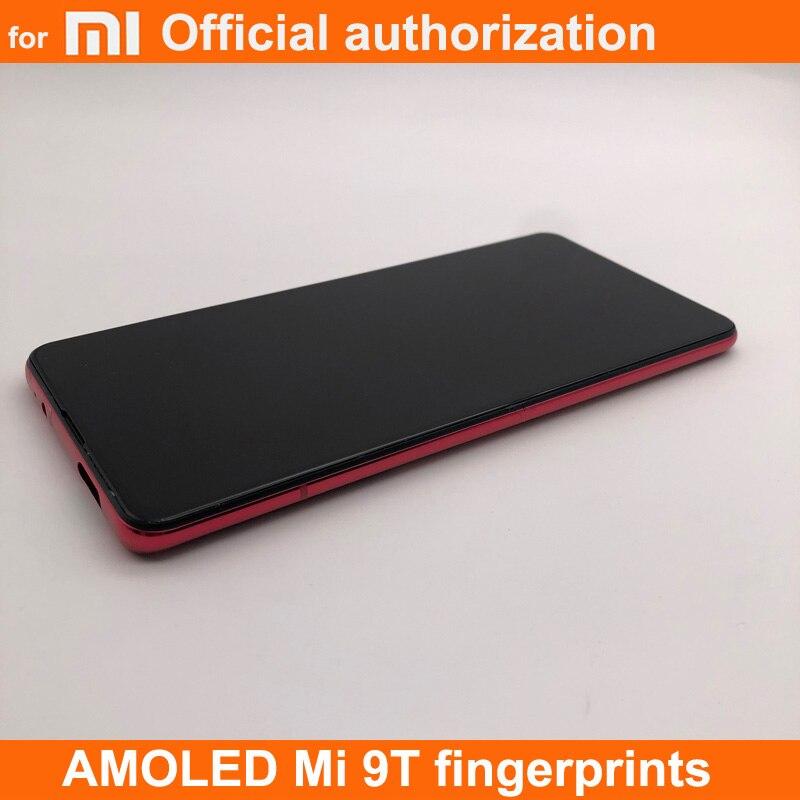 "AMOLED 6.39"" for Xiaomi Redmi K20 PRO LCD Display for Xiaomi Mi 9t pro Touch Screen Digitizer ADD FRAME for Xiaomi Redmi mi9T"