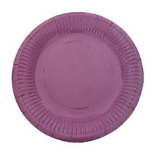 10 pièces assiettes en papier jetables fête danniversaire cercle assiette fruits assiette gâteau plateau vaisselle fête danniversaire fournitures