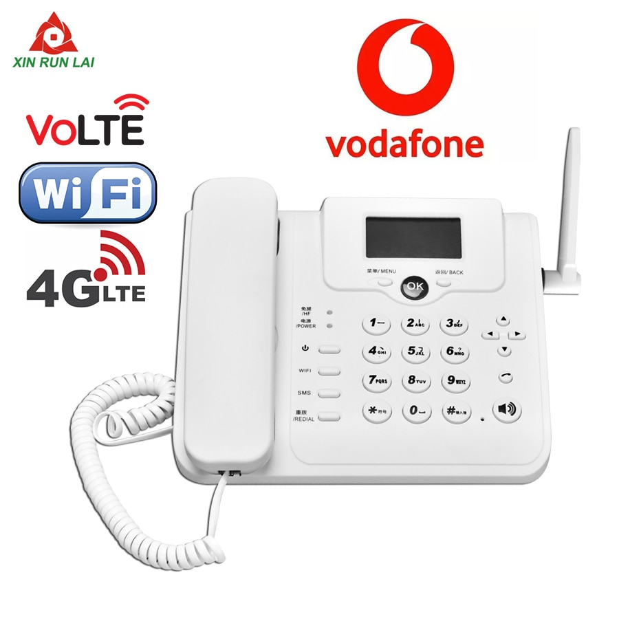 W101W 4G 3G GSM Voice Call VoLTE Router Wireless Fixed Telephone Landline Router Mobile Hotspot Wifi Modem With LAN Port