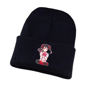 lovelive Knitted hat Cosplay hat Unisex Print Adult Casual Cotton hat teenagers winter Knitted Cap