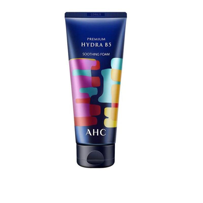 Limpiador Facial de ácido hialurónico Original coreano AHC para hombres, para eliminar el acné, Control de aceite sensible B5, 180Ml
