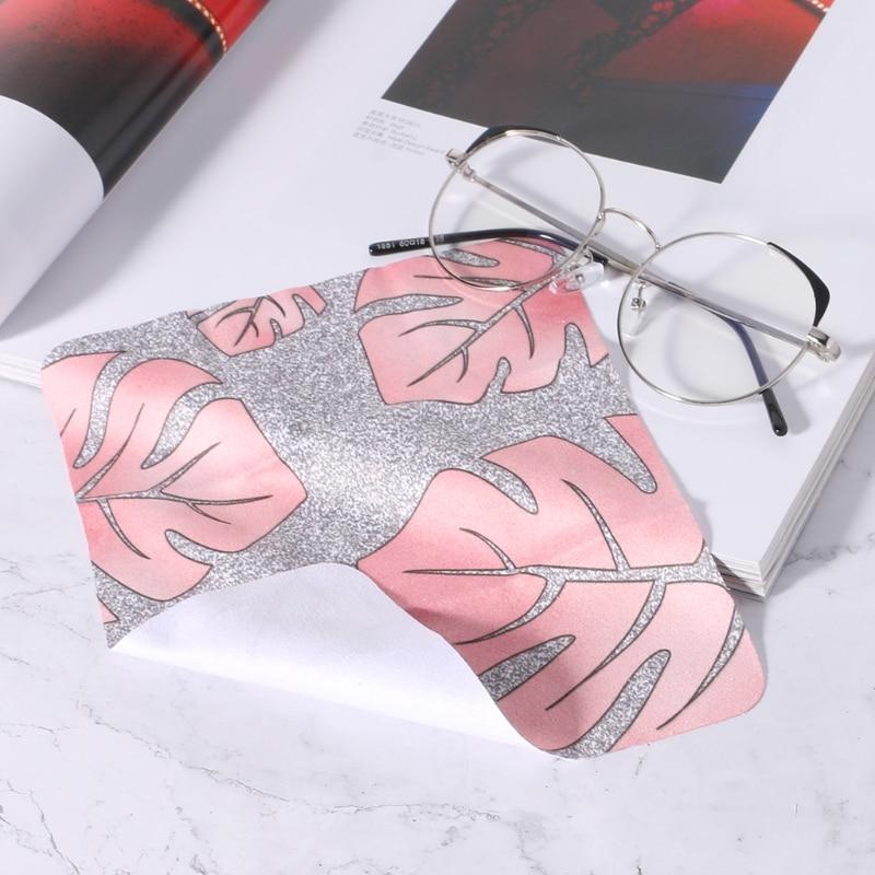 Drop Ship & Wholesale New Glasses Cloth Nordic Style 145x175mm gamuza suave limpiar el polvo pantalla del teléfono OCT 8